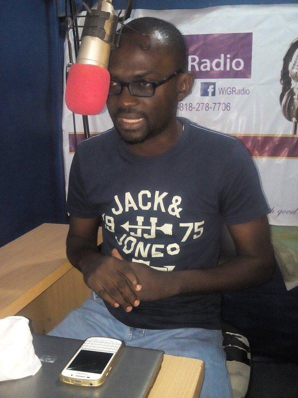 Pastor Gbenga on WiGRadio