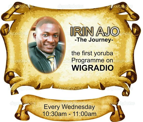 Irin Ajo on WiGRadio